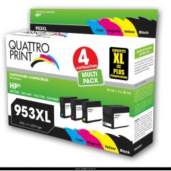 pack 4 cartouches compatible HP 953XL
