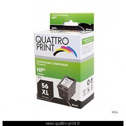 Cartouche d'encre compatible HP 56